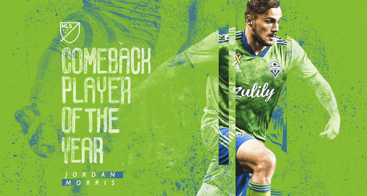 COMEBACK PLAYER OF THE YEAR: Morris earns the MLS honor