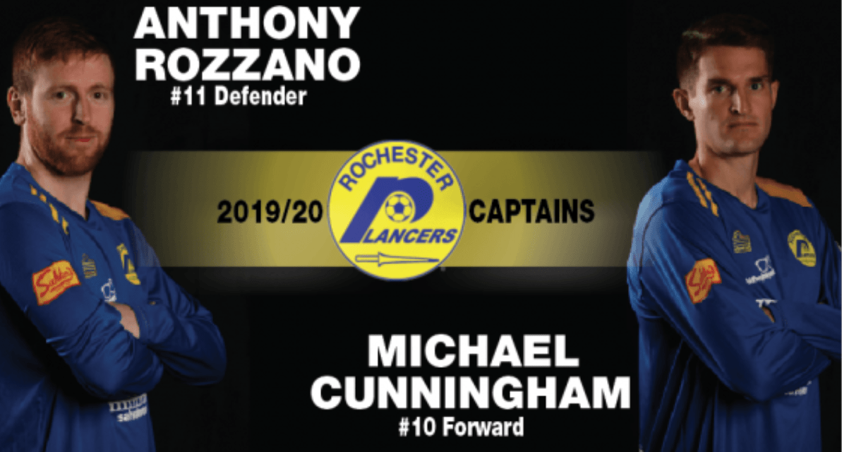 FIRST SIGNINGS: Cunningham, Rozzano return to the Lancers as co-captains
