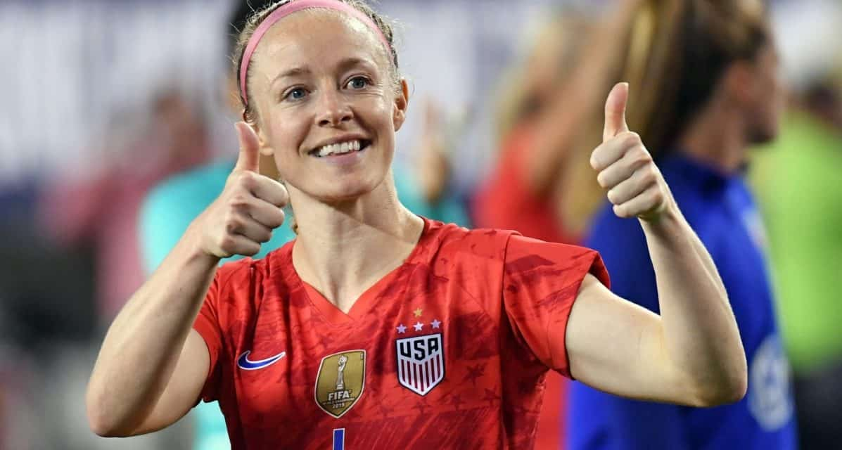 GOING FOURTH: Sauerbrunn named NWSL's top defender for 4th time