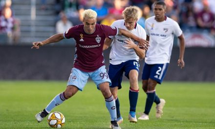 A RAPIDS REWARD:  MLS names Shinyashiki rookie of the year