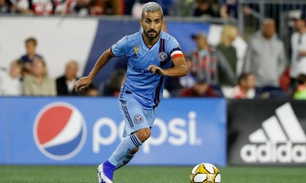HE'LL BE BACK FOR MORE: Moralez signs new 2-year DP deal with MLS, NYCFC