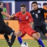 ON A HOT STREAK: Pulisic scores again for Chelsea, his first Champions League goal
