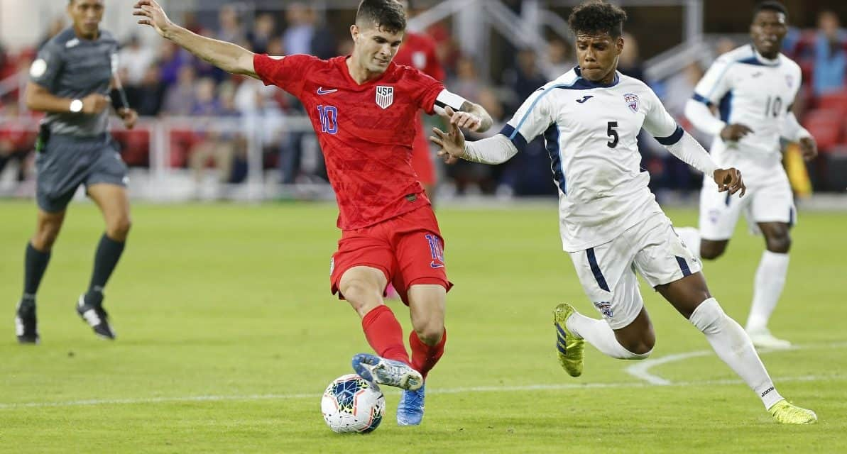 THEY'RE IN THE RUNNING: Pulisic, current Red Bulls defender Long up for U.S. Soccer male player of the year
