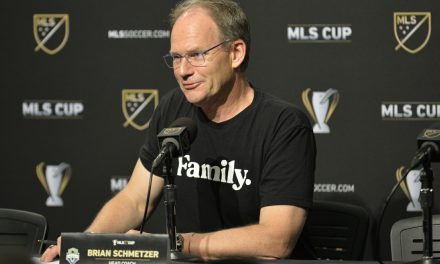 A TALE OF TWO PAGES: Schmetzer had a victory speech and a concession speech