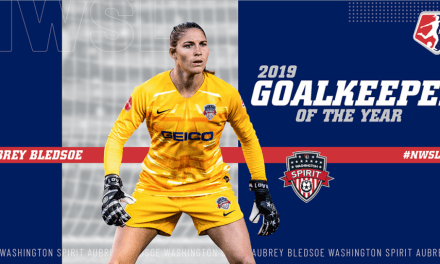 HANDS-ON APPROACH: Spirit's Bledsoe named NWSL goalkeeper of the year