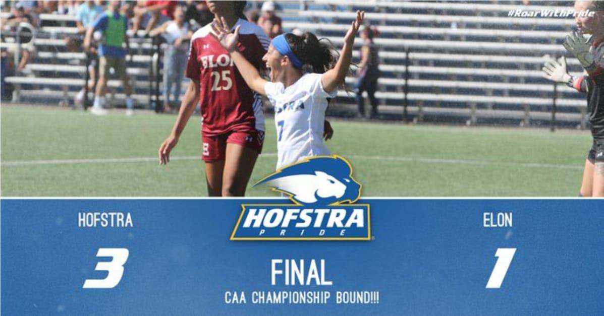 ROLLING ON: Hofstra women win, reach CAA final for 3rd year in a row