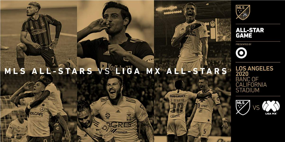 THE STARS WILL REALLY COME OUT: It will be MLS all-stars vs. their LIGA MX counterparts in 2020 game
