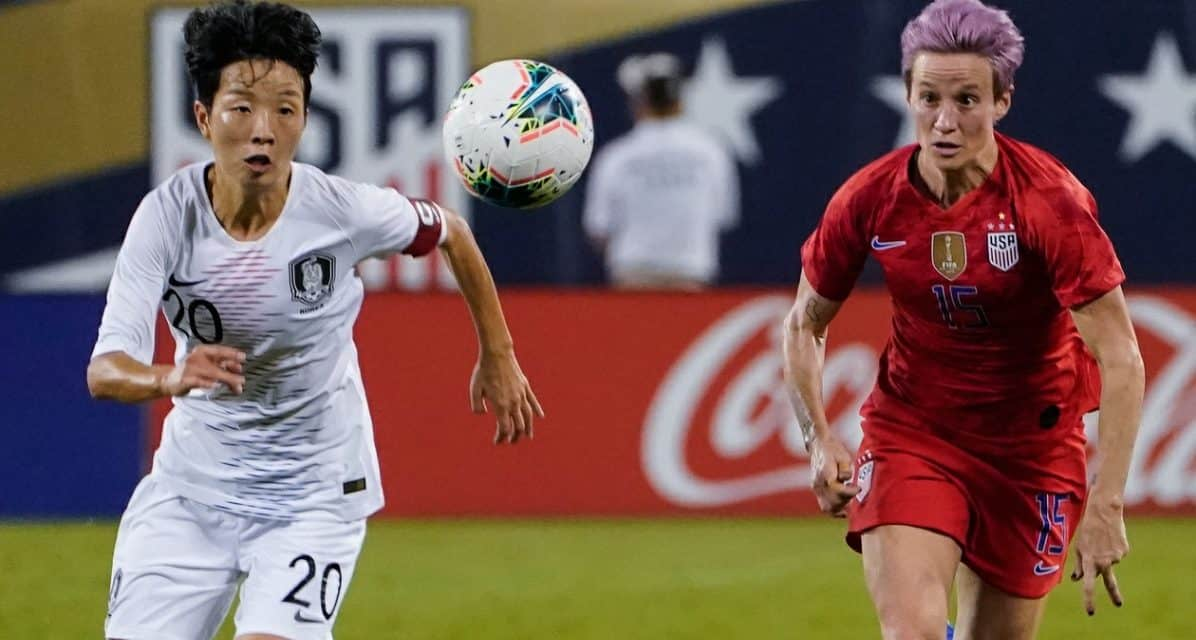 THEY'RE FINALISTS: Ertz, Lavelle, Lloyd, Morgan, Rapinoe, Naeher vie for U.S. Soccer female player of the year