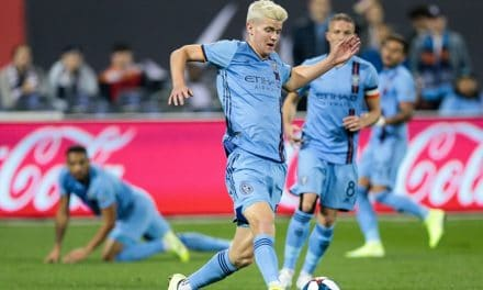 ONE AND DONE: Report: NYCFC's Parks to return to Benfica