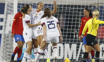 SECOND-HALF SURGE: USWNT rolls over Costa Rica in 2019 finale, 6-0