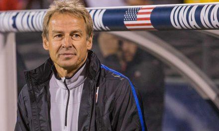 10 YEARS LATER: Klinsmann coaches a club team again