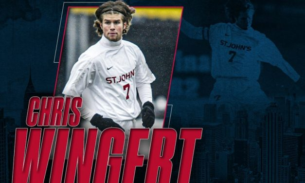 VERY HIGH HONORS: Wingert to be inducted into St. John's Athletics Hall of Fame