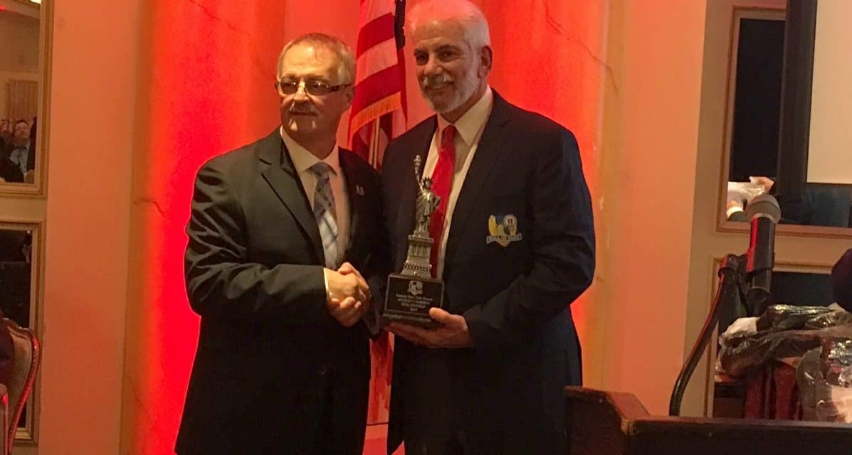A YONKERS SOCCER MAINSTAY: Cambria inducted into ENYSSA Hall of Fame