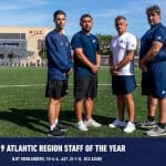 REGIONAL HONORS: NJIT men coaching staff named Atlantic Region staff of the year