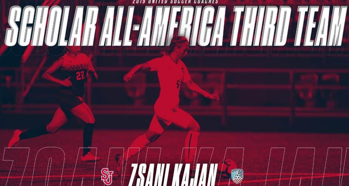 MAKING THE TEAM: St. John's Kajan earns Scholar All-America third team honors