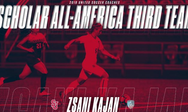 MAKING THE TEAM: St. John's Kajan earns Scholar All-America third team honors