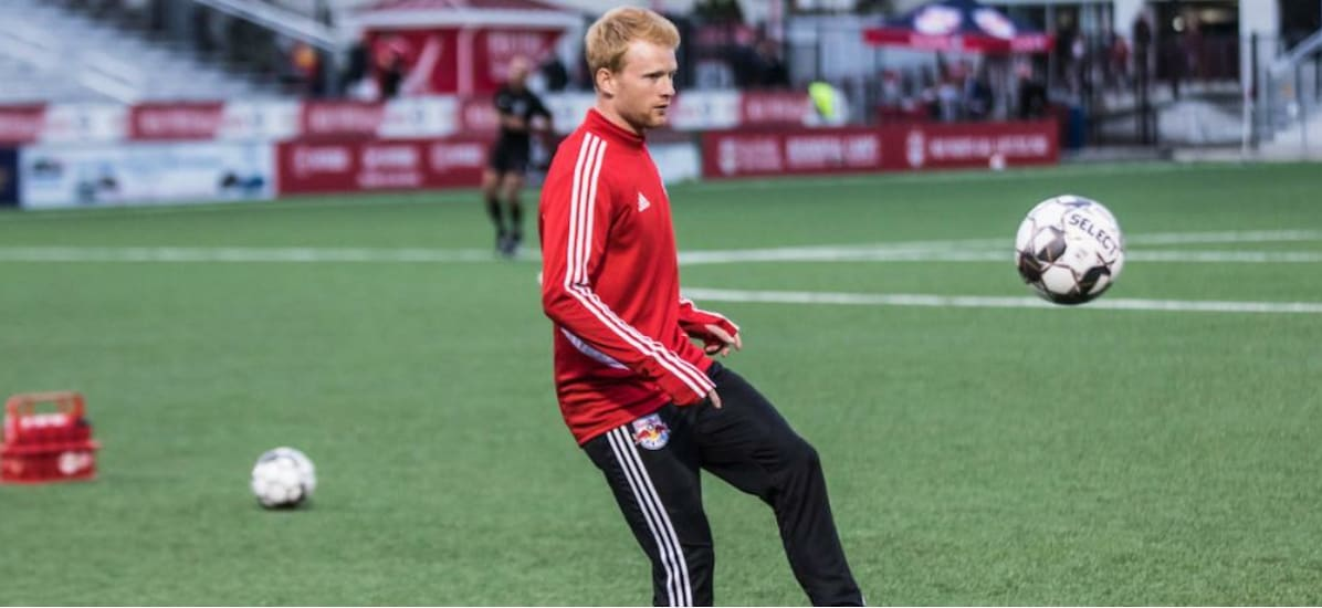 EARLY RETIREMENT: Red Bull II defender McSherry hangs them up after one season