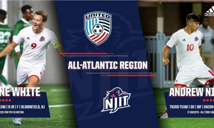THEY'RE ALL REGION: NJIT's White, Nino earn All-Atlantic honors