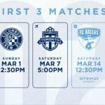 ON THE ROAD: NYCFC to start 2020 at Columbus March 1; home opener vs. FC Dallas March 14