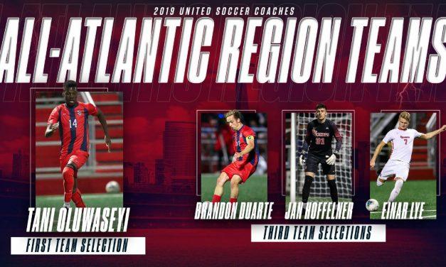 IMPRESSIVE QUARTET: 4 St. John's men named to All-Atlantic Region teams