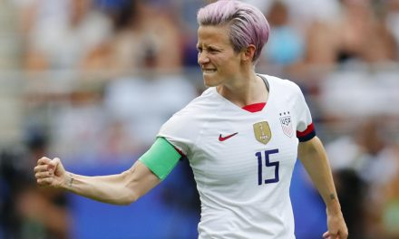 ANOTHER HONOR: USWNT's Rapinoe SI's sportsperson of the year