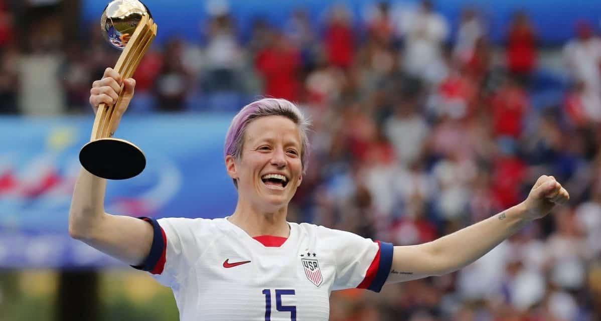 MINING SOME MORE GOLD: USWNT's Rapinoe wins women's Ballon d'Or