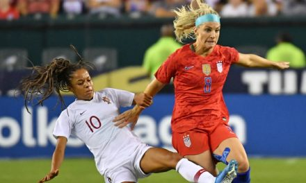 MIDFIELD ENGINE: Ertz named U.S. Soccer's female of the year