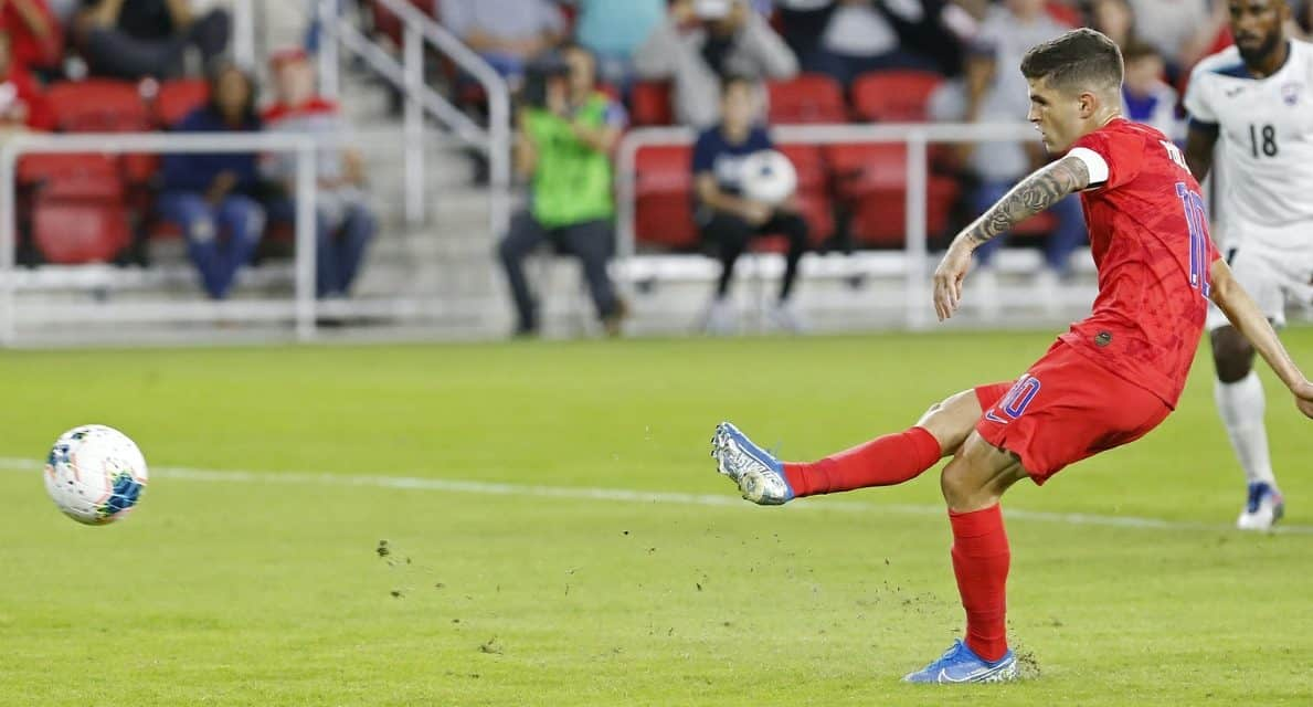 NATIONAL COUNDTOWN: No. 8 — Pulisic (the $73 million man) starts to prove himself