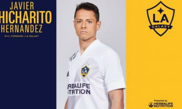 IT'S OFFICIAL: Chicharito signs with LA Galaxy