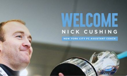 HELPING HAND: Cushing named NYCFC assistant coach