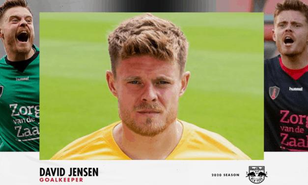 HE'S A KEEPER: Red Bulls sign Danish GK Jensen