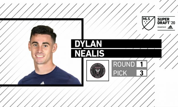 HE'S NO. 3: Inter Miami makes Nealis 3rd overall draft pick