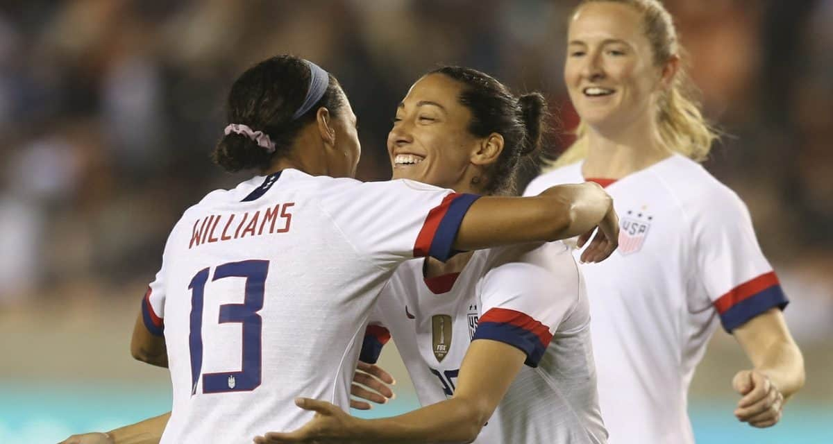 GOOD ENOUGH: Rusty USWNT blanks Haiti in Olympic qualifying opener