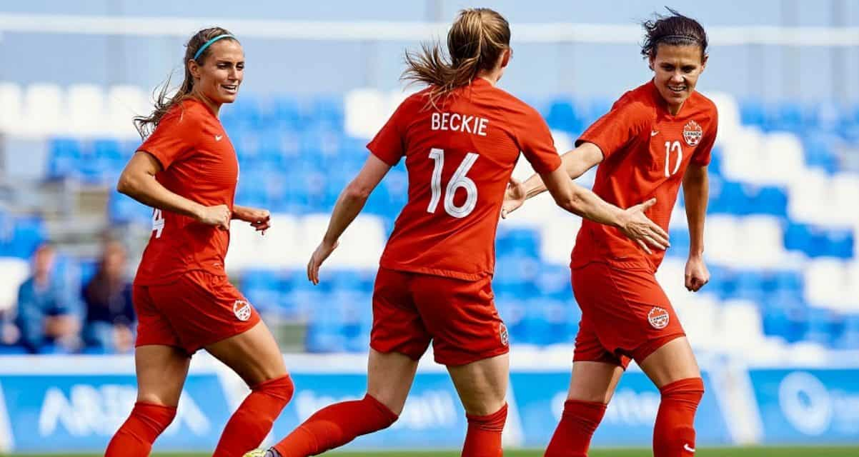 CALLED IN: Sky Blue FC's Sheridan, along with Sinclair, in Canada qualifying camp