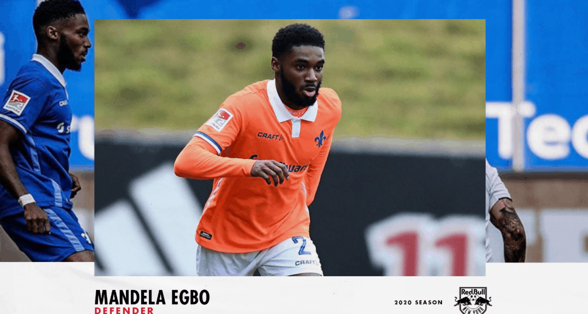 HE'LL BE RIGHT BACK: Red Bulls ink English defender Egbo