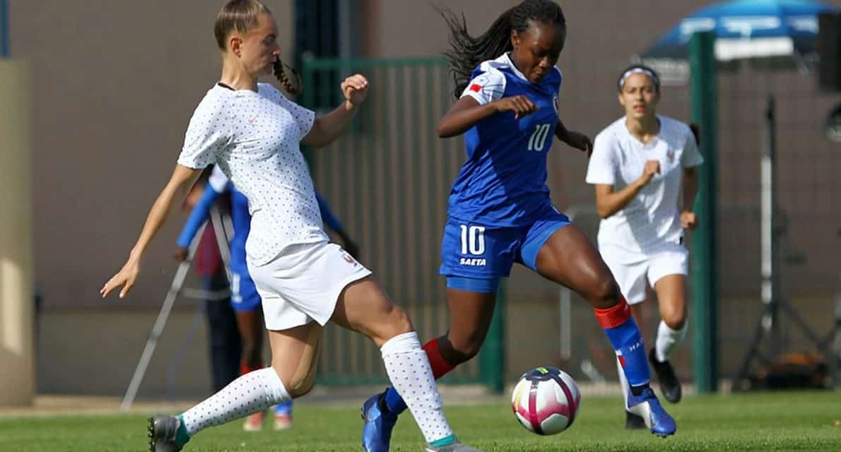DOUBLING HER PLEASURE: Etienne will compete in Olympic qualifying, Concacaf Women's U-20 Championship