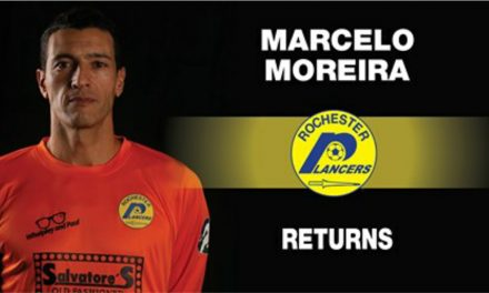 HE CAN BE VERY HANDY: Veteran goalkeeper Moreira, 45, returns to the Lancers