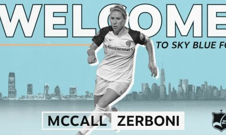 A NEW START: Sky Blue FC acquires Zerboni, conditional draft pick from Courage for Mace's rights