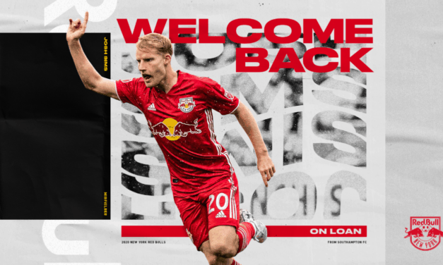 NOT JOSH-ING AROUND: Sims returns to Red Bulls on loan, with an option to extend