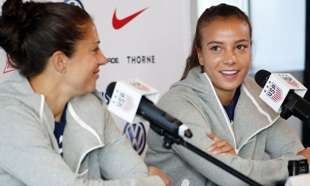 UPGRADING THE ATTACK: Sky Blue FC trades away four draft picks for USWNT's Mallory Pugh