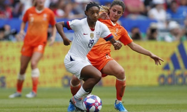 TWICE A CHAMPION: Crystal Dunn named women's pro player of the year