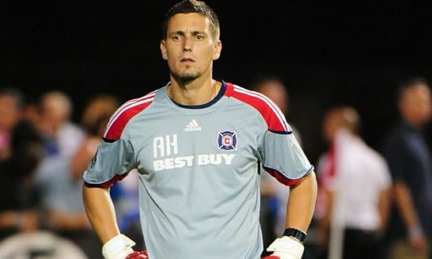 A VERY HANDY ASSISTANT: Hyde named USMNT goalkeeping coach