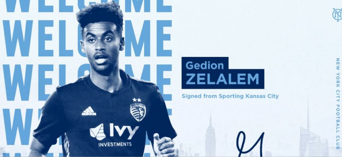 ADDING MIDFIELD DEPTH: NYCFC signs ex-Sporting KC player Zelalem