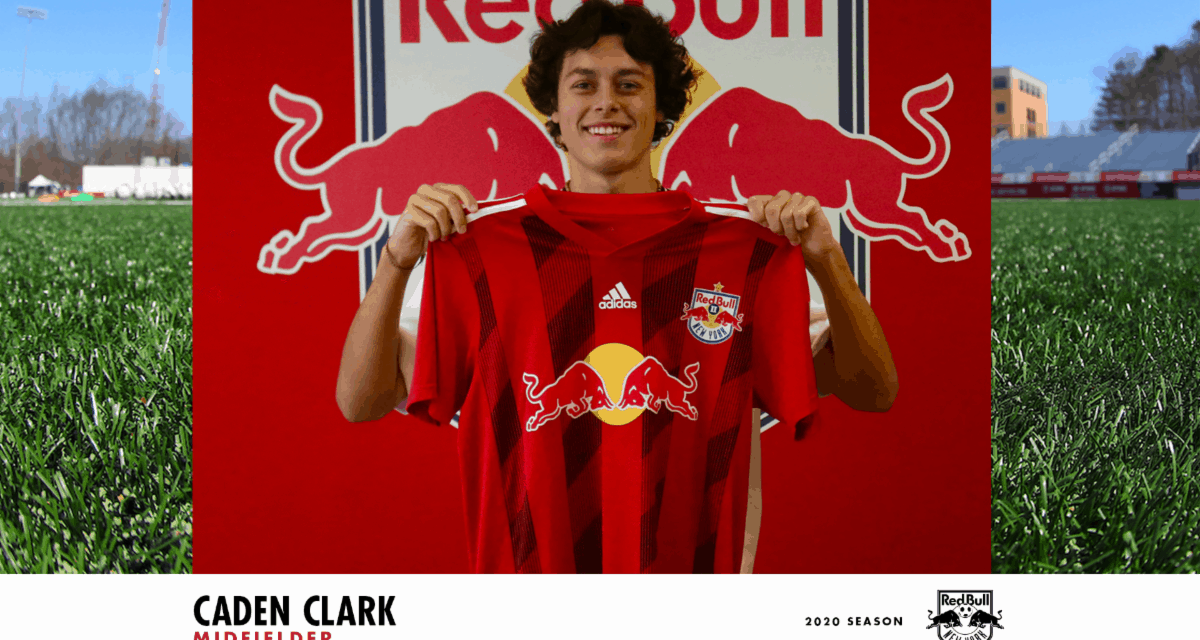 SWEET 16 SIGNING: Teenager Clark signs with Red Bull II