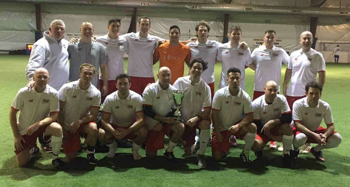 FLAMES ON: College Point wears LISFL indoor 2nd division indoor crown