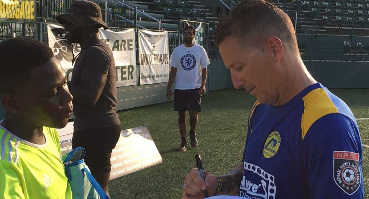 IT'S MILLER TIME, ONCE MORE: Lancers head coach, 50, will suit up for MASL team