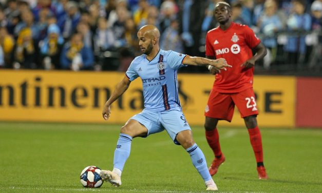 A WILD AND CRAZY ONE: NYCFC secure a 5-3 CCL win at San Carlos behind Heber's hat-trick