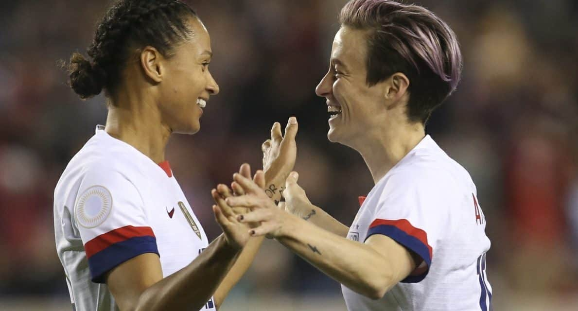 GUNNING FOR THE GROUP TITLE: USWNT meets Costa Rica in Olympic qualifying