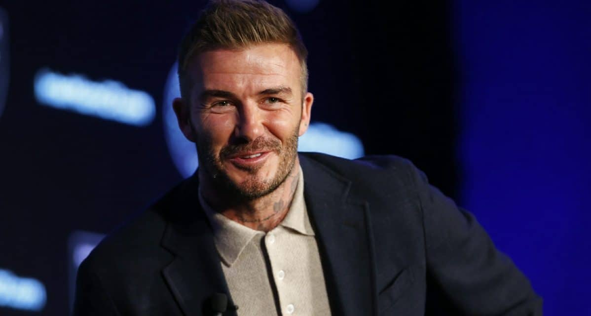 HIS BIG CHALLENGE: Beckham calls Inter Miami 'probably the hardest thing' he has done