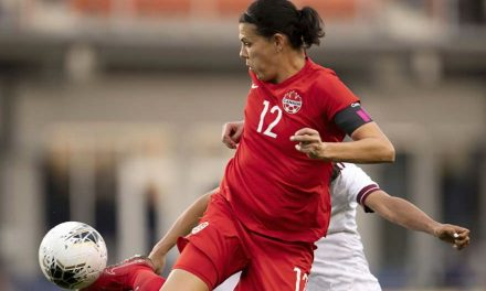 NO SINCLAIR: Canadian goal-scoring star to miss SheBelieves Cup
